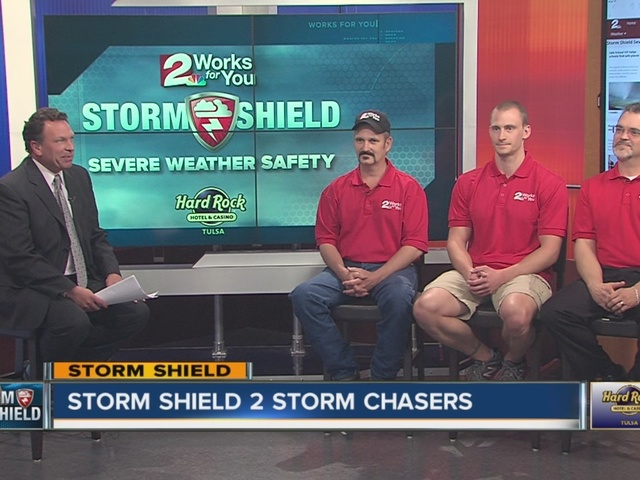 Elite Storm Chasers talk about the chase