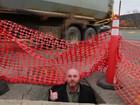 VIDEO RANT: Comedian wants huge pothole fixed