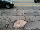 What is being done about the potholes?