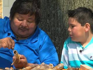 Creek Flute Maker passes down tribal traditions