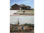 Before and one-year-later images of Moore