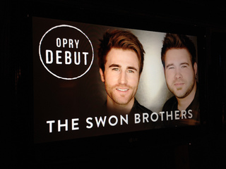 Swon Brothers perform at the Grand Ole Opry