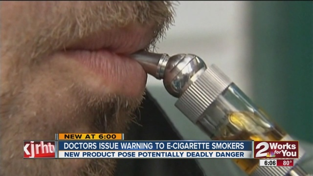 E Cigarette Cartridge Lights