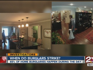 What are burglars stealing from homes?