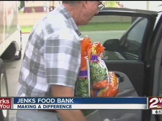 Jenks Community Food Bank needs your help