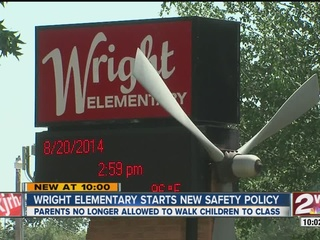 Wright Elementary adopts new safety policy