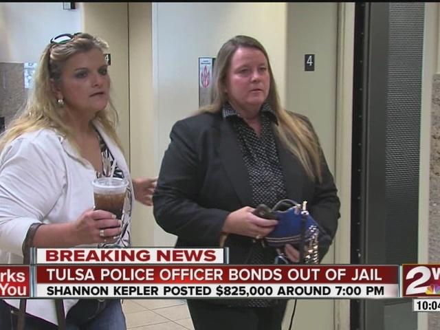 Shannon Kepler bonds out of jail