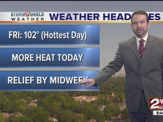 FORECAST: Sunny & Hot Weekend!