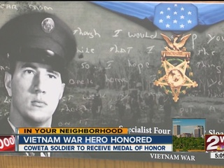 Coweta veteran to receive Medal of Honor