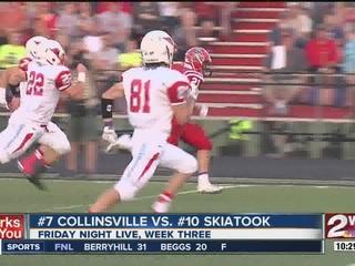 Skiatook beats Collinsville 21-14