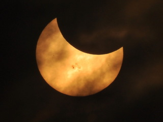 PHOTOS: Partial solar eclipse, 10/23