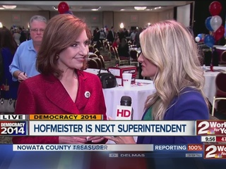 Hofmeister defeats Cox for state superintendent