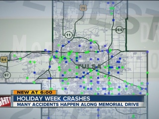 DATA: More crashes at Thanksgiving than Xmas