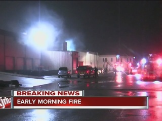 Fire reported at Port of Catoosa building