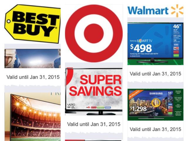 what tvs are on sale walmart target best buy hdtvs on sale week of super bowl - Best Buy After Christmas Sale