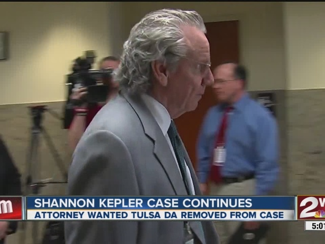 Shannon Kepler case continues; attorney wanted Tulsa DA removed from case