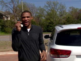 Thunder's Westbrook gives new car to single mom