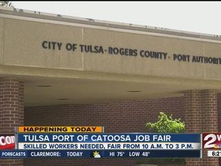 Port of Catoosa holding job fair until 3 p.m.