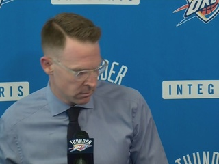 Thunder GM talks about choice to fire Brooks