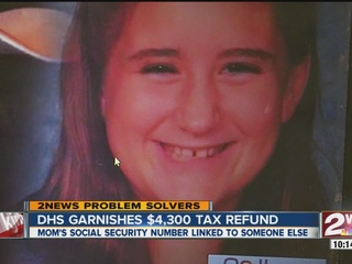 Single mom struggles to get tax refund back