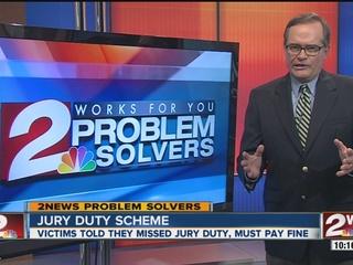 Jury duty scheme claims victims owe money