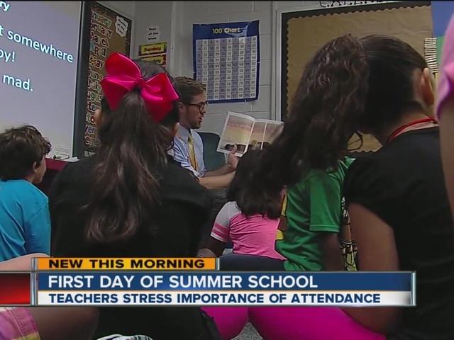 Summer school starts for Tulsa Public Schools - KJRH.com