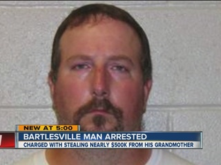 Man accused of taking nearly $500K from grandma