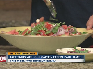 Paul James shows us how to make watermelon salad