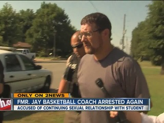 Fmr. coach violates court order, arrested again