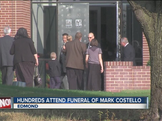 Hundreds attend funeral of Mark Costello
