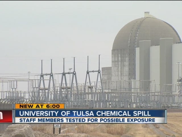 Risultati immagini per radioactive spill at TU