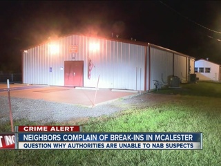 McAlester neighborhood plagued by break-ins