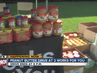 Thank you for your peanut butter donations!
