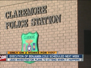 Investigator plans to attend Cole execution
