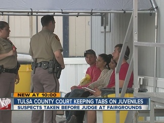 Quick justice for juveniles at the fairgrounds