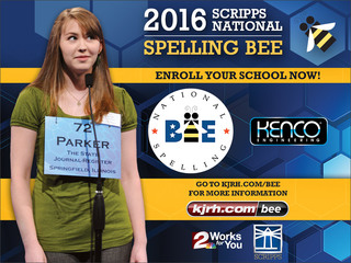 Enroll now for chance to compete in national bee