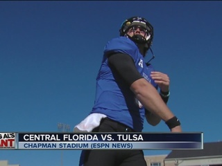 Tulsa beats UCF, 45-30 for 5th win