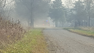 Nowata County wildfire, Nov. 12