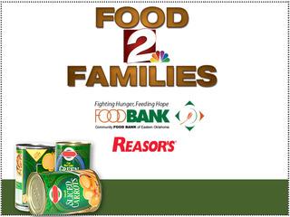 FOOD DRIVE: Donate at Reasor's until Dec. 15