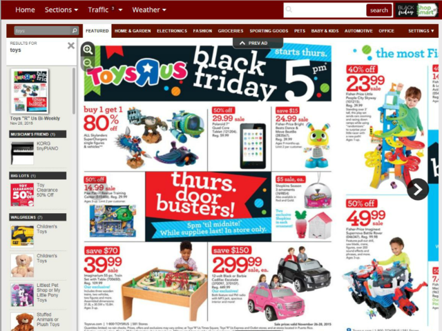2017 Black Friday Ads Toy Deals At Target Walmart Toys R Us