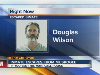 Inmate reported missing in Muskogee