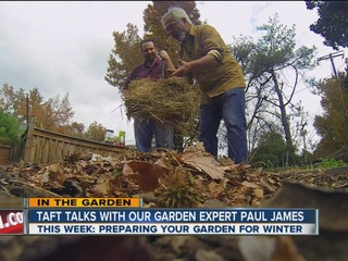 Paul James puts the garden to bed for the winter