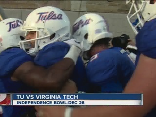 Independence Bowl picks Tulsa vs Virginia Tech