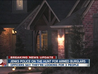 3 arrested in attempted Jenks home invasion