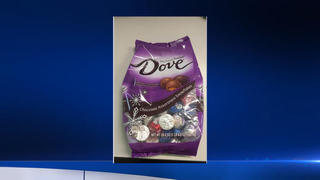 Recalled: Seasonal Dove chocolates contaminated