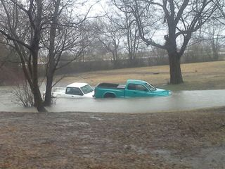 Floodwaters ravage Muskogee County
