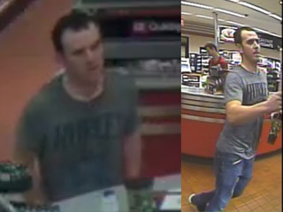 BAPD search for credit card, auto theft suspect