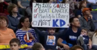 Kevin Durant makes fan's dreams come true