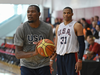 Durant, Westbrook US Olympic team finalists