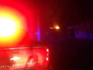Vacant home in Glenpool destroyed by fire